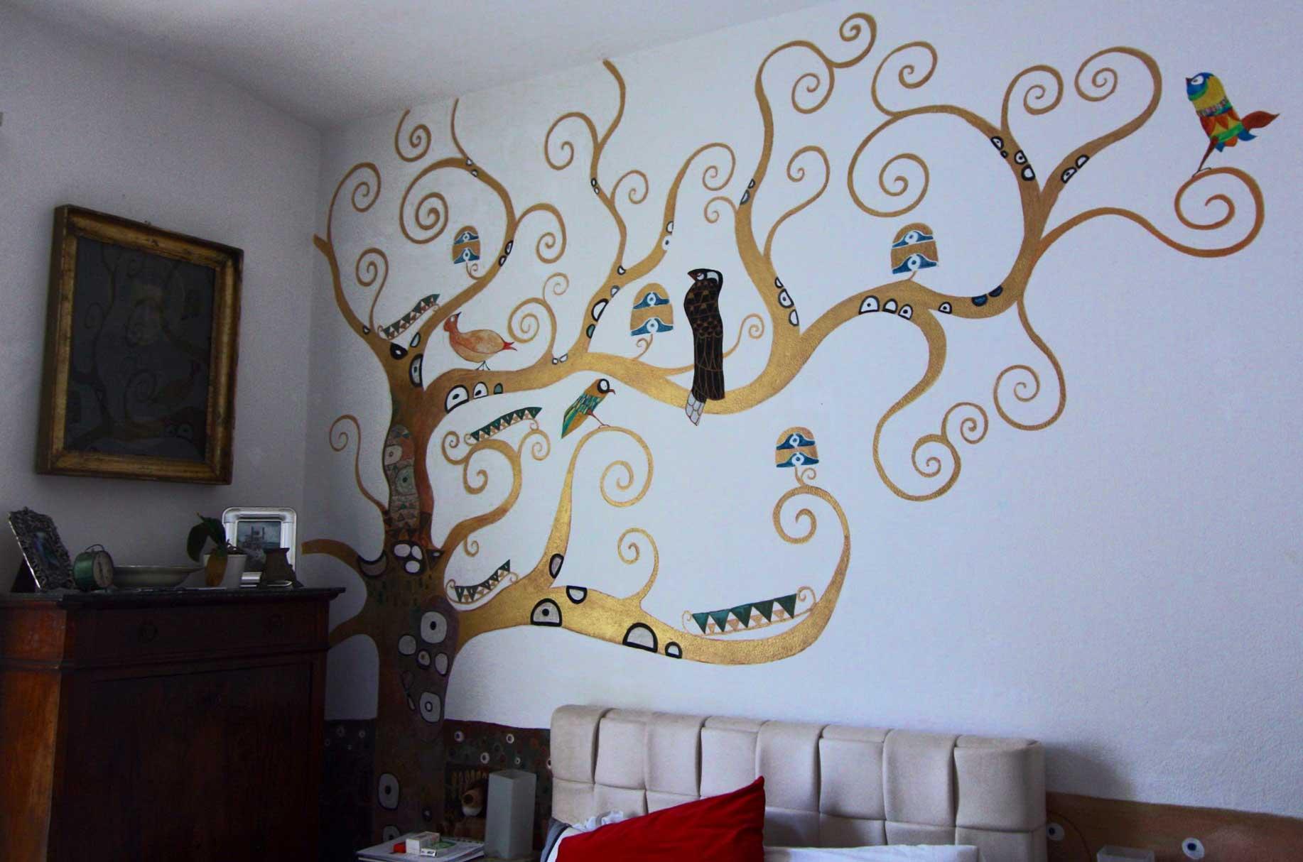 Albero - Albero su parete ...