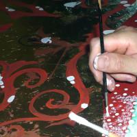 Albero della vita, pittura su tavola